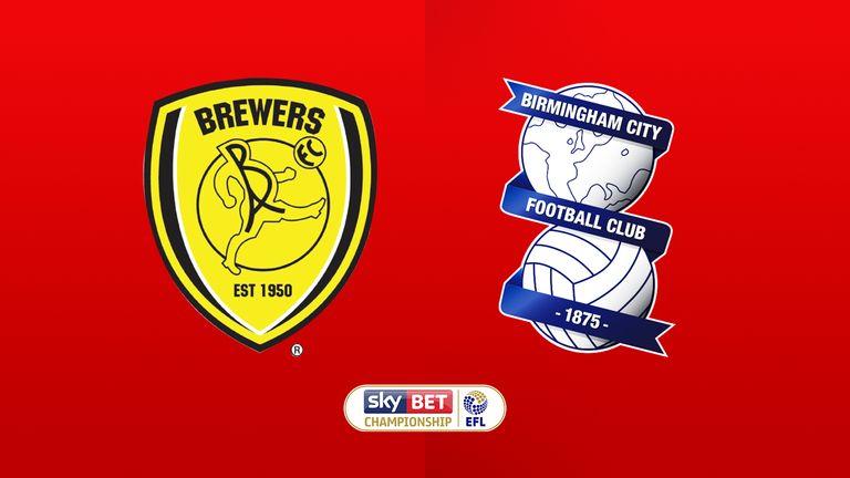 Burton Albion v Birmingham City