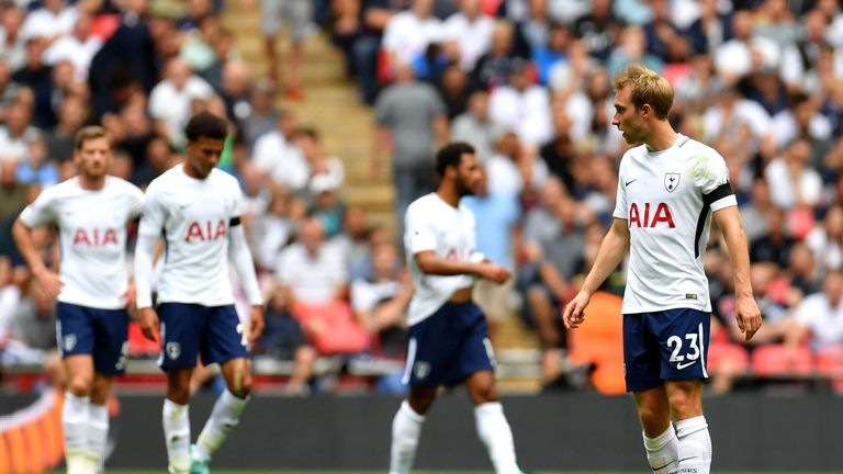 Sunday brought another Wembley defeat for Christian Eriksen and Tottenham