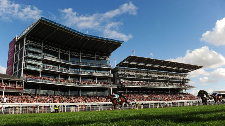 Frankel ridden by Tom Queally win the Juddmonte International Stakes during day one of the 2012 Ebor Festival at York Racecourse.
