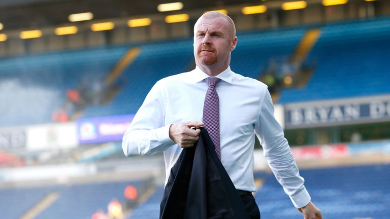 Burnley manager Sean Dyche before the Carabao Cup, Second Round match at Ewood Park, Blackburn.