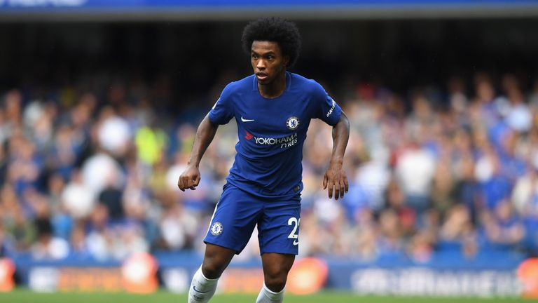 Willian of Chelsea