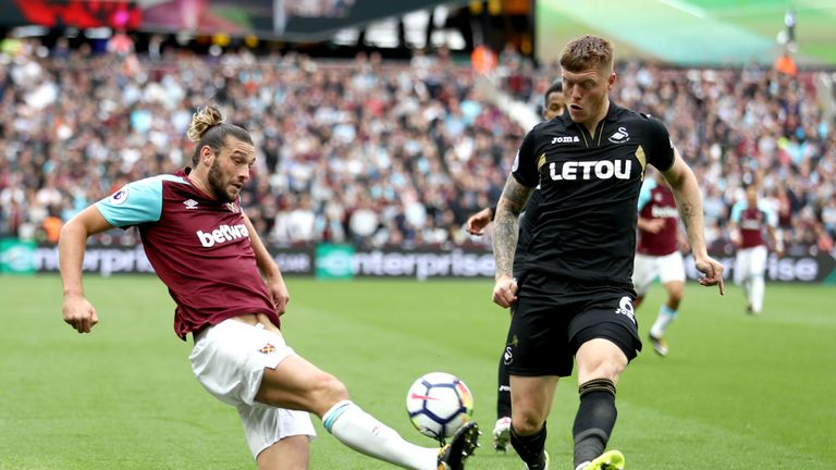 Alfie Mawson did an excellent job of containing Andy Carroll