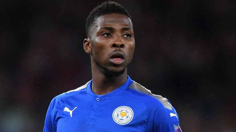 Kelechi Iheanacho appears to be part of Claude Puel's plans