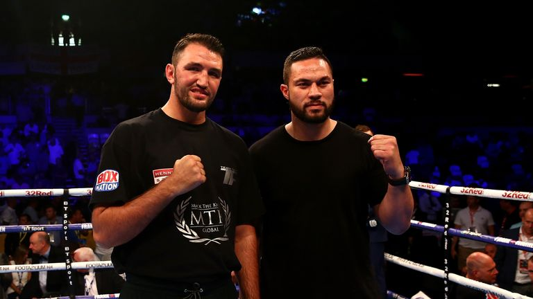 Hughie Fury and Joseph Parker fight in Manchester on Saturday