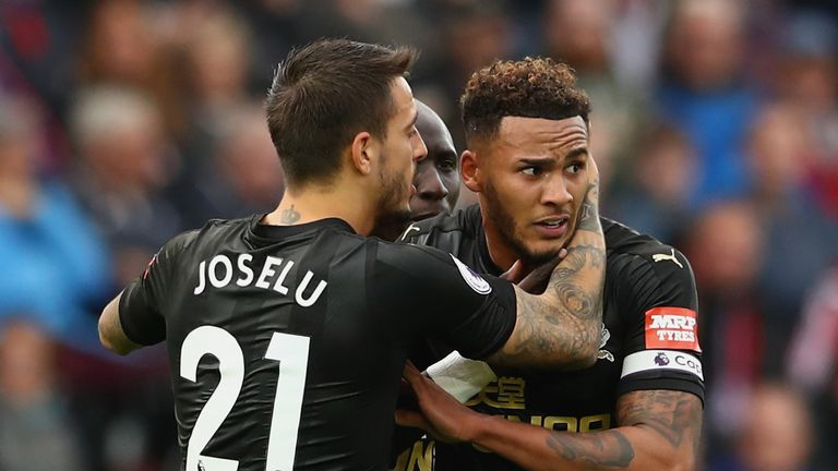 Newcastle captain Jamaal Lascelles scored the winner against Swansea