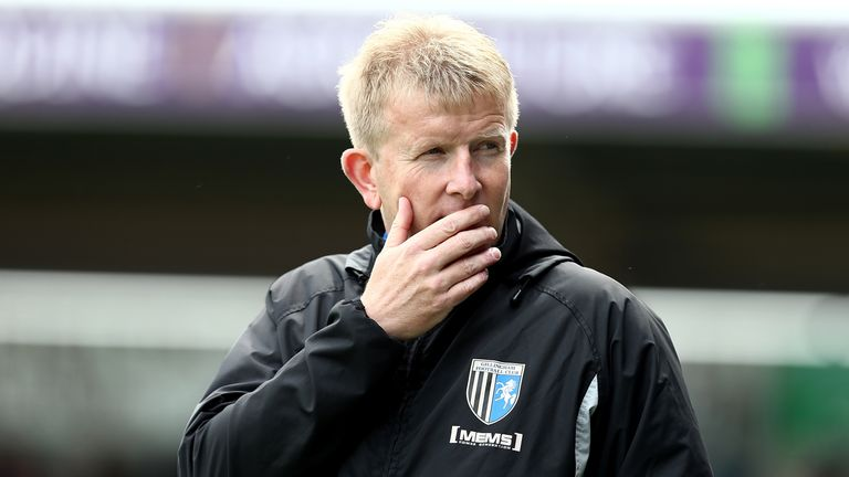 Gillingham manager Ady Pennock leaves struggling League One side by mutual consent