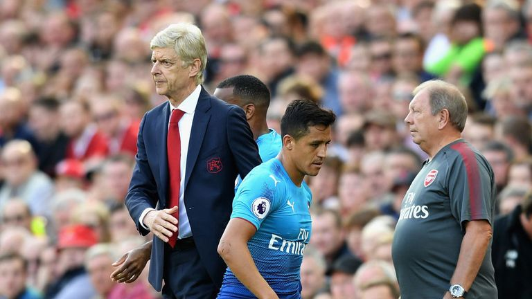 Alexis Sanchez is getting back to his best, says Wenger