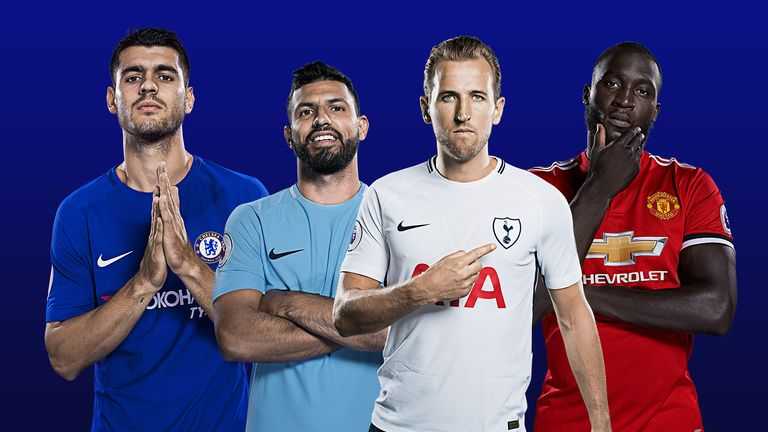 Thierry Henry has given his verdict on Alvaro Morata, Sergio Aguero, Harry Kane and Romelu Lukaku