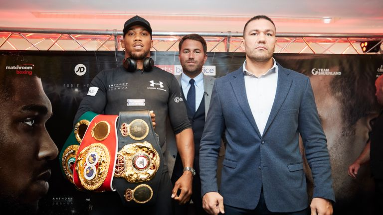Kubrat Pulev preparing to shock Anthony Joshua
