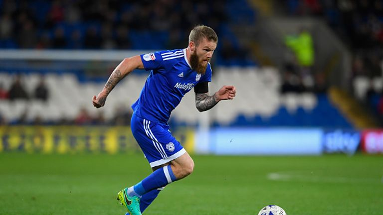 Aron Gunnarsson has made 201 appearances for the Bluebirds