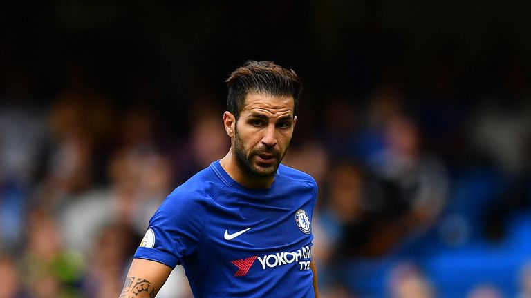 Cesc Fabregas says he is happy and settled at Stamford Bridge