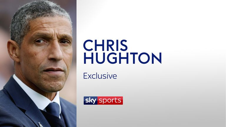 Chris Hughton spoke exclusively to Sky Sports ahead of Brighton's clash with Newcastle