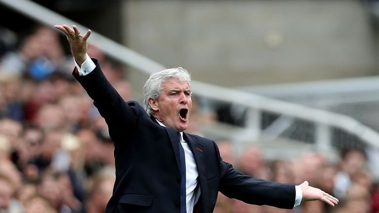 Shawcross insists there's no doubt that manager Mark Hughes is still the best man for the job