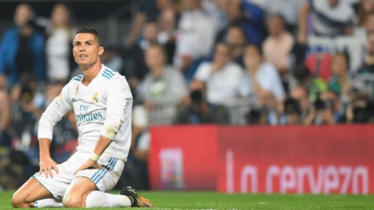 Cristiano Ronaldo had a quiet night in front of goal for Real