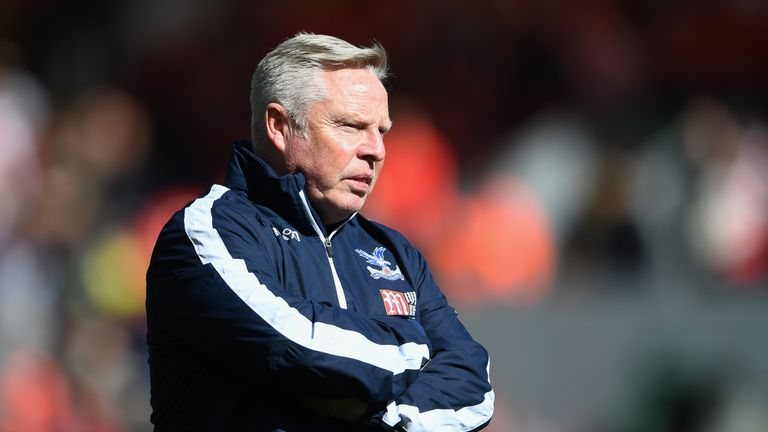 Sammy Lee has left Crystal Palace