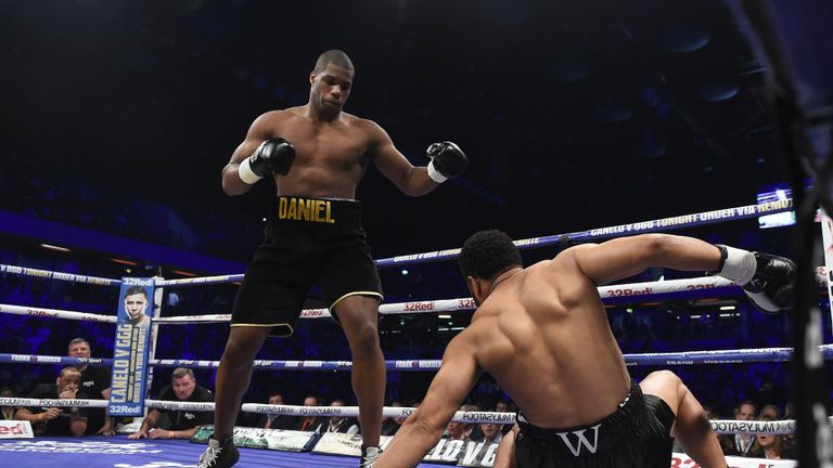 Southern Area champion Daniel Dubois has sparred with Anthony Joshua