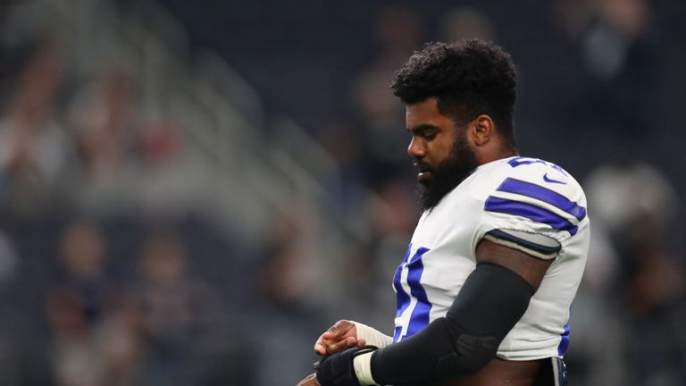 Judge puts Elliott's six-game suspension on hold
