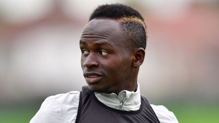 Sadio Mane injured his hamstring playing for Senegal