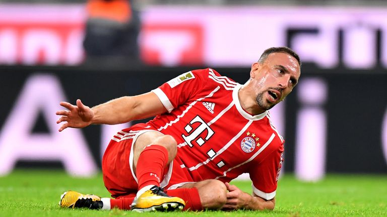 Ribery has gone on to enjoy great success in Germany with Bayern Munich