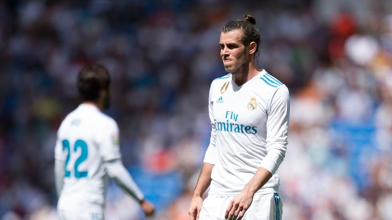 Bale has missed 40 of the last 60 Real Madrid games
