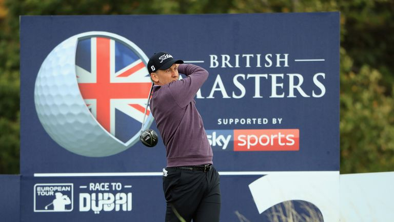 Ian Poulter is just one shot off the British Masters lead despite a 'scrappy' start on Saturday