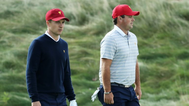 Jordan Spieth and Patrick Reed continued their winning partnership on Saturday