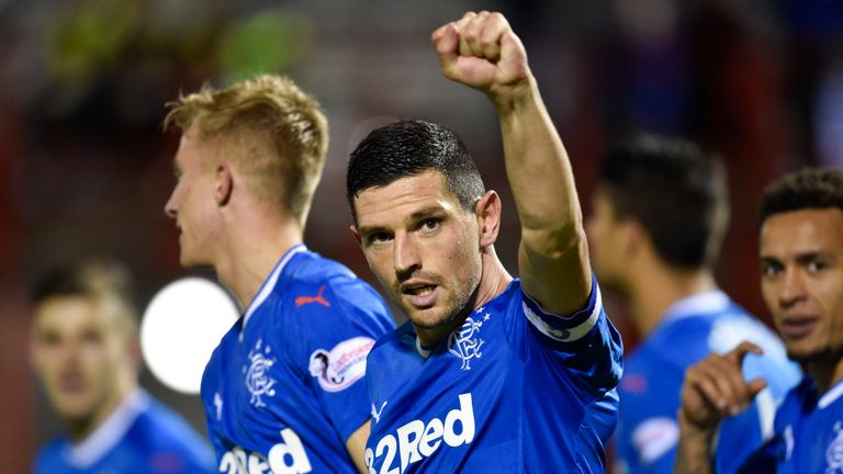 Graham Dorrans has scored four goals in ten appearances so far for Rangers