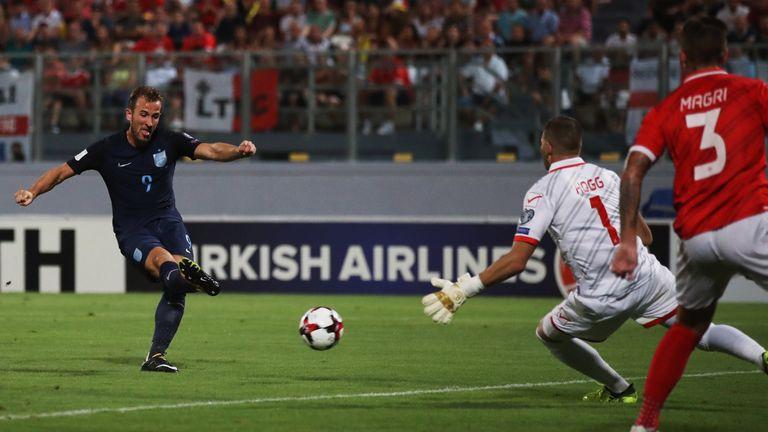 Kane nets England's opener in Malta