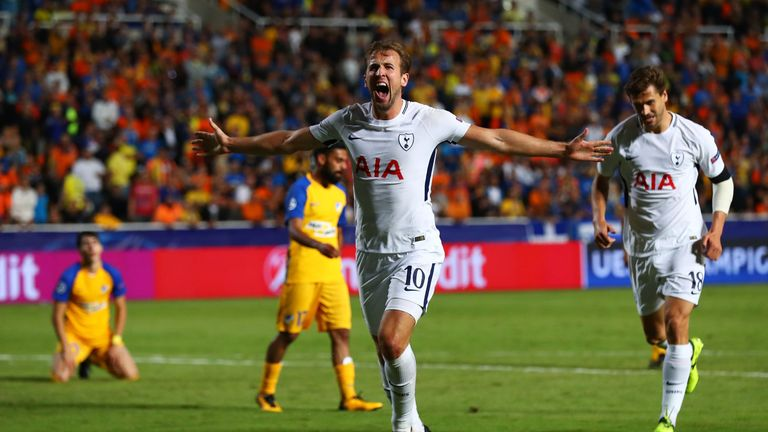 Harry Kane has already scored five Champions League goals