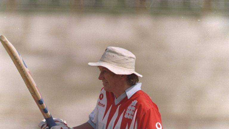 Jan Brittin became the first woman to score 1,000 World Cup runs