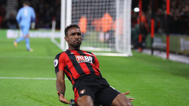 Jermain Defoe was brought in by Bournemouth in the summer
