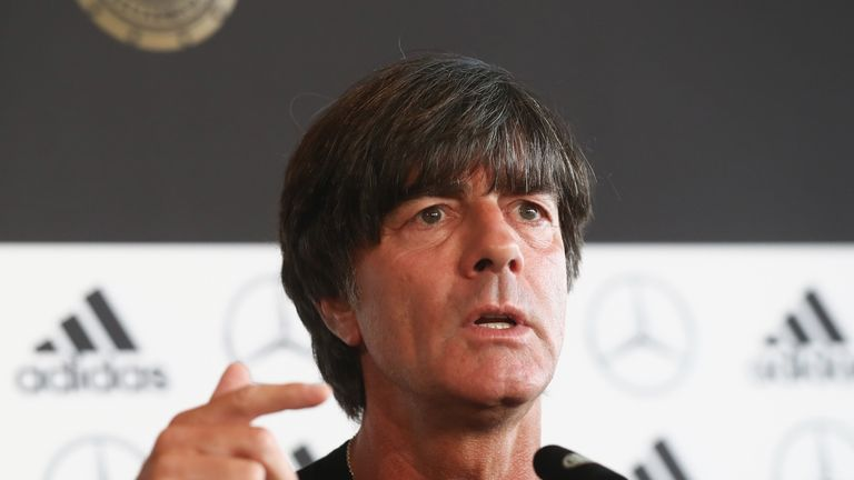 Joachim Low called Germany supporters involved in Nazi chants 'anarchists'
