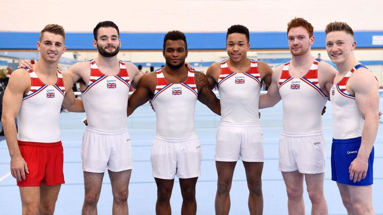 Fraser (centre right) was part of a strong six-strong GB team