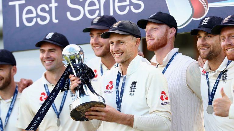 Joe Root led England to a 2-1 Test series victory over Windies