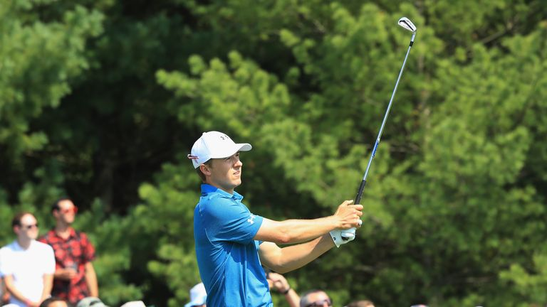 Jordan Spieth leads the FedExCup standings heading into the final two events