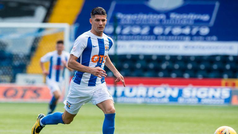 Kilmarnock's Jordan Jones has represented Northern Ireland at youth level