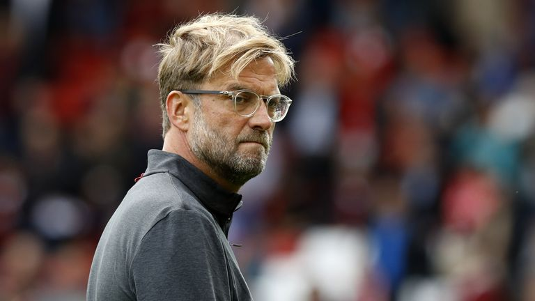 Jurgen Klopp has come under pressure from certain sections of the Liverpool fan base