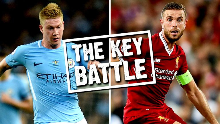 Who will come out on top between Kevin De Bruyne and Jordan Henderson?