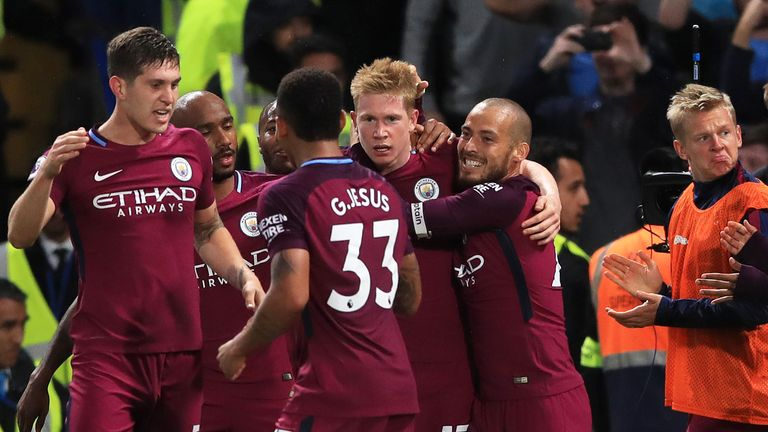 De Bruyne struck a stunning left-foot winner in the second half