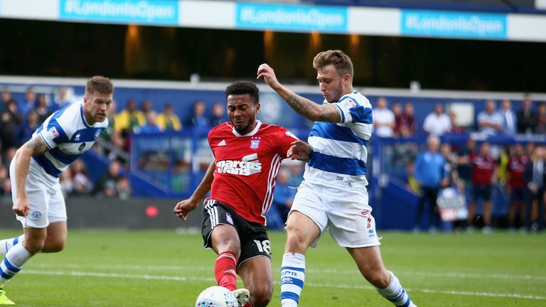 Luke Freeman in action for QPR