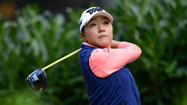 Lydia Ko is just three behind as she chases her first win of the year