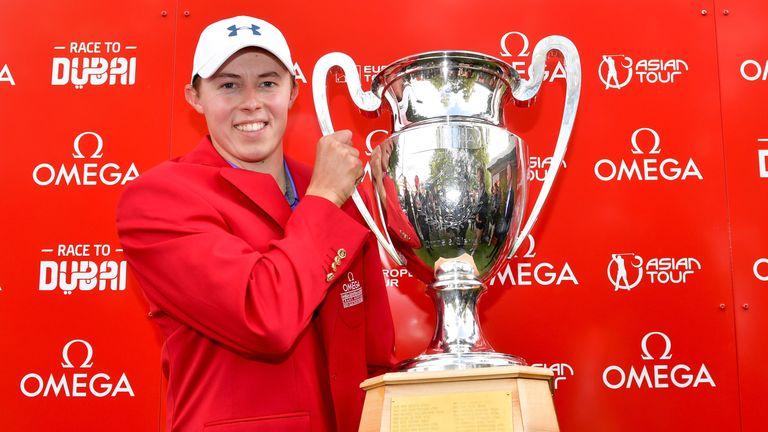 Matt Fitzpatrick won the Omega European Masters after a play-off against Scott Hend