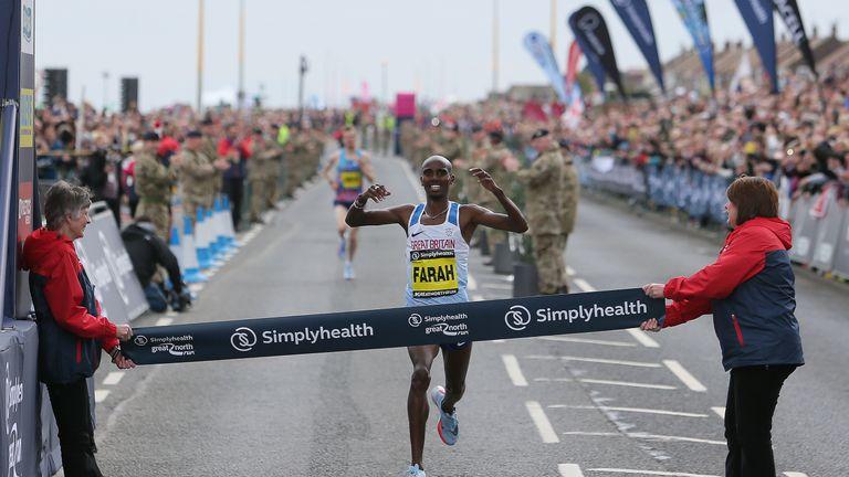 Olympic champion Farah to run 2018 London Marathon