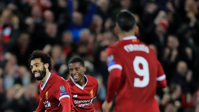 The Reds opened their Champions League campaign with a 2-2 draw at home to Sevilla on Wednesday