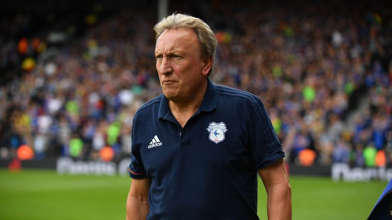 Neil Warnock's Cardiff City were in the relegation zone this time last year