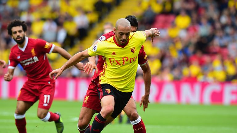Nordin Amrabat has left Watford for a loan spell at Leganes