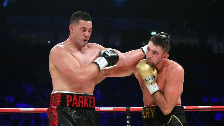 Parker beat Hughie Fury last time out