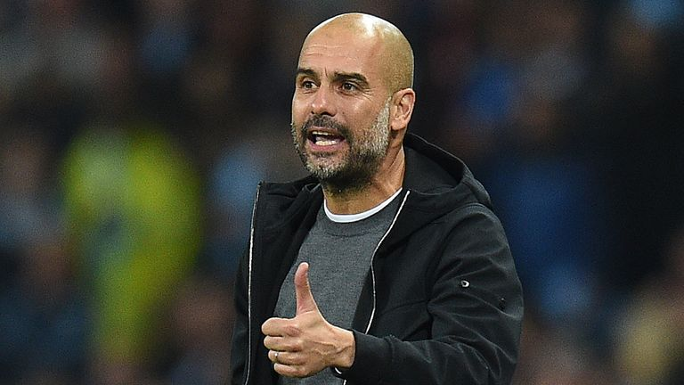 Pep Guardiola has guided Manchester City to 10 wins from their first 11 league games.