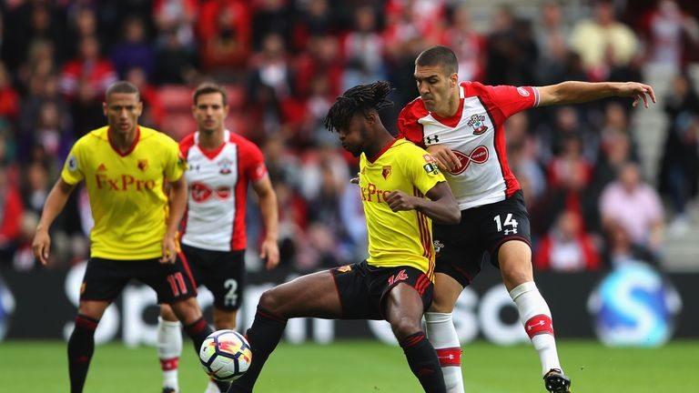 Nathaniel Chalobah got the better of Oriol Romeu at St Mary's