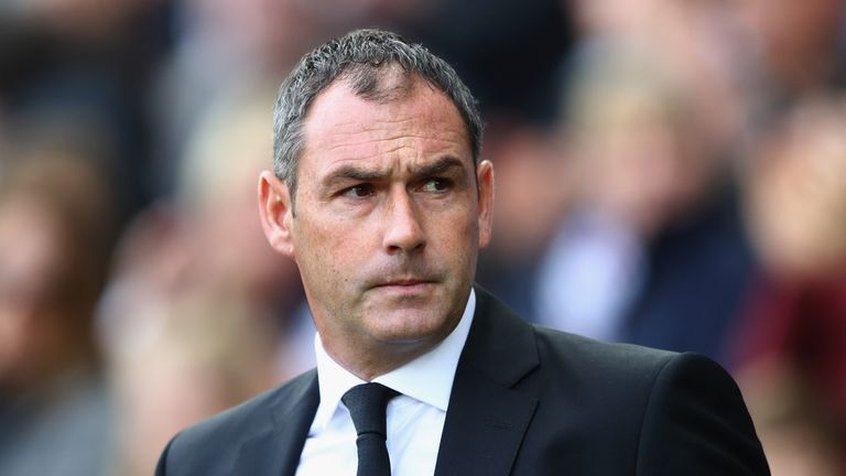 Paul Clement witnessed his Swansea side lose a third straight Premier League game at home